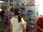The supply shelf