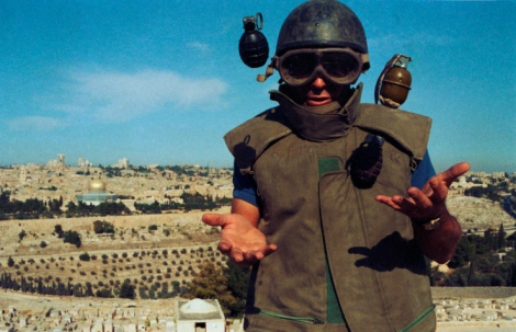 J. Ross Baughman, taken originally for LIFE magazine in September 1984 Read more: 'Disarmers of Terror': Portraits of an Israeli Bomb Squad, 1984 | LIFE.com http://life.time.com/history/disarmers-of-terror-life-with-an-israeli-bomb-squad-1984/#ixzz3KfNHvuYm
